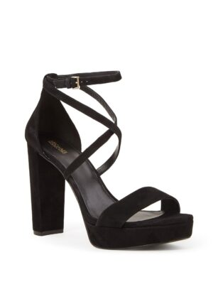Charlize sandalette van suède