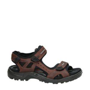Ecco Offroad leren sandalen (Bruin)