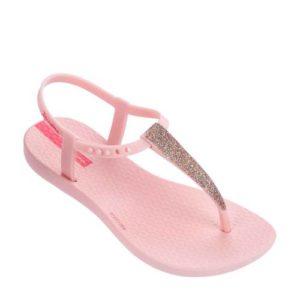 Ipanema Charm teenslippers met glitters (Roze)