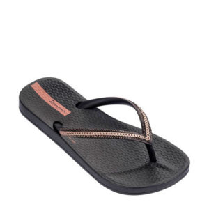 Ipanema Anatomic Metallic teenslippers zwart (Zwart)
