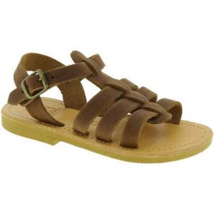 Attica Sandals PERSEPHONE NUBUCK DK-BROWN