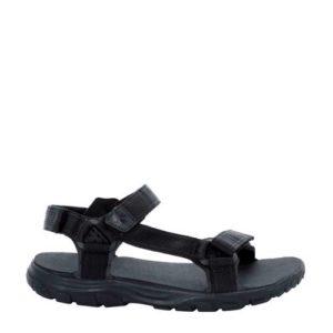 Jack Wolfskin Seven Seas 2 outdoor sandalen (Zwart)