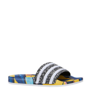 adidas Adilette W badslippers (Blauw)