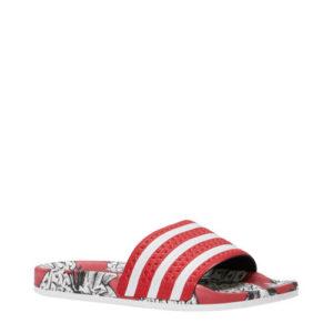 adidas Adilette W badslippers (Rood)