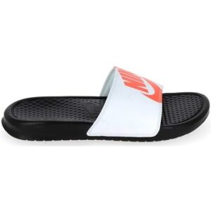 "Nike Benassi""Just Do It"" Noir Bright Crimson Blanc 631261-029"