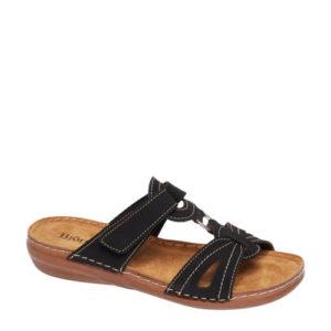vanHaren slippers zwart (Zwart)