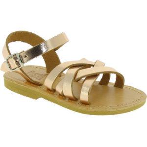 Attica Sandals HEBE CALF GOLD PINK