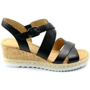 Gabor DAMES sandaal 42.832. zwart