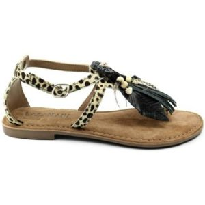 Lazamani DAMES sandaal 75.707 beige