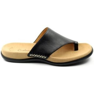 Gabor DAMES slipper 03.700 zwart