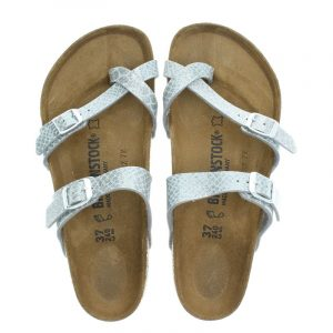 Birkenstock Mayari magic snake slippers