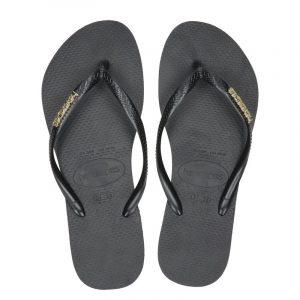 Havaianas Slim Logo Metallic slippers