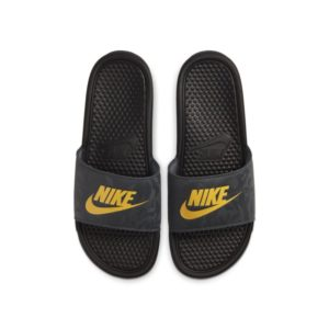 Nike Benassi Slipper - Zwart