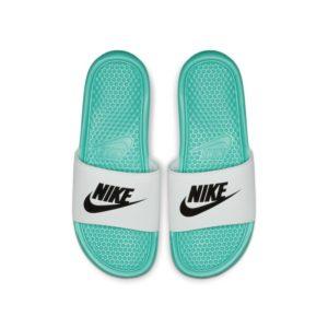 Nike Benassi Slipper - Groen