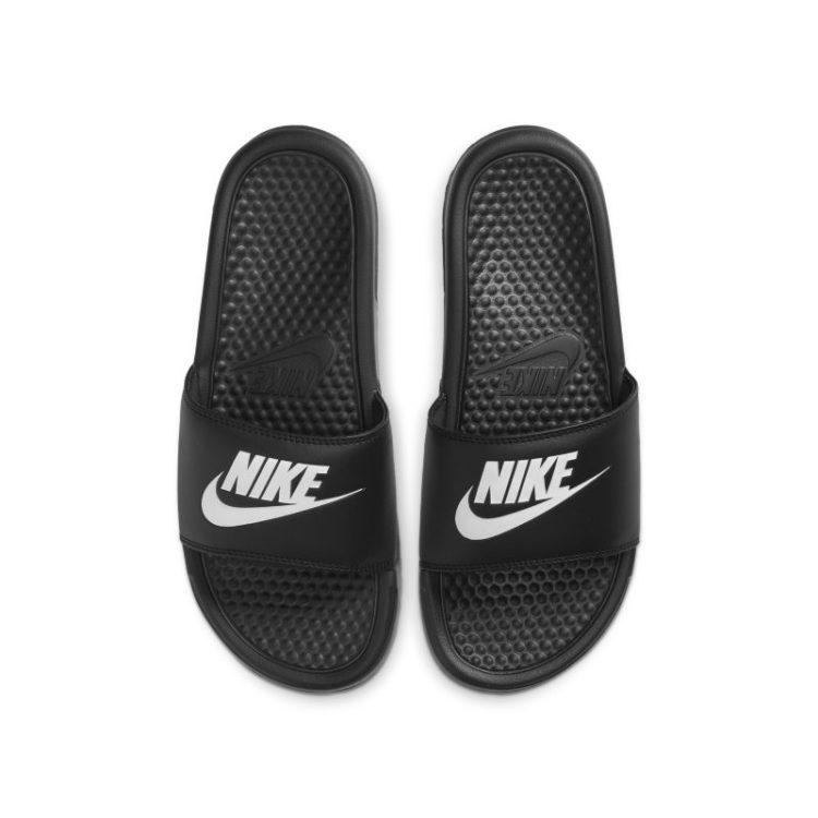 Nike Benassi Slipper voor dames - Zwart