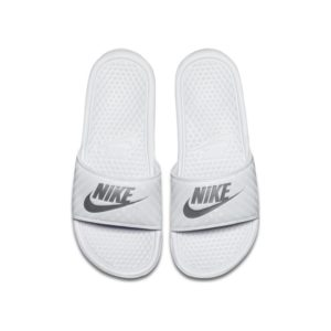 Nike Benassi Slipper voor dames - Wit