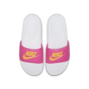 Nike Benassi Slipper voor dames - Wit
