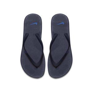 Nike Solarsoft II Teenslipper voor heren - Blauw