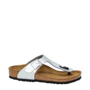 Birkenstock slippers (Zilver)