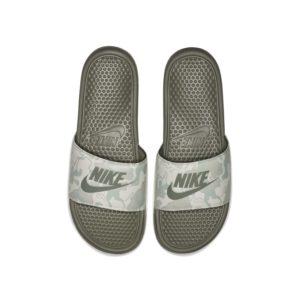 Nike Benassi JDI Printed Slipper voor heren - Grijs