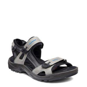 Ecco Offroad nubuck outdoor sandalen (Grijs)