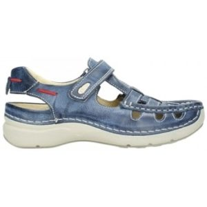 Wolky 07201 Rolling Summer - 30870 blauw zomer leer