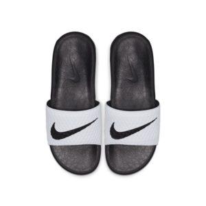 Nike Benassi Solarsoft 2 herenslipper - Wit