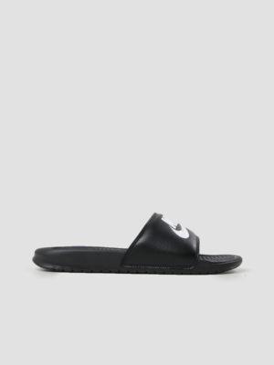 Nike Benassi Just Do It Black 343880-090 (zwart)