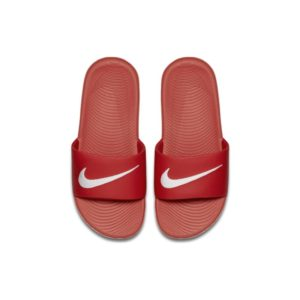Nike Kawa Slipper kleuters/kids - Rood