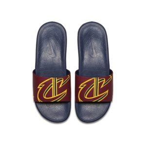 Nike Benassi NBA Slipper voor heren - Rood
