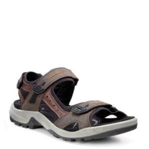 Ecco Offroad nubuck outdoor sandalen (Bruin)