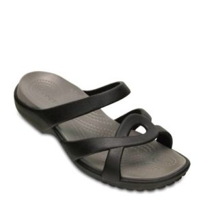Crocs Meleen Twist slippers (Zwart)