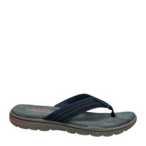 Skechers teenslippers (Blauw)