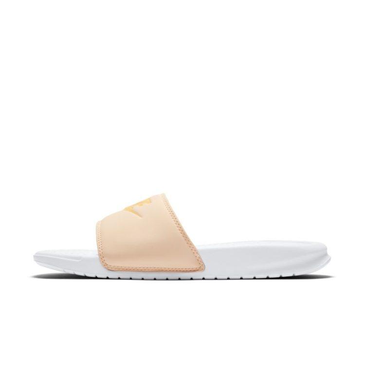 Nike Benassi Pastel QS Slippers voor dames - Oranje