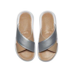 Nike Benassi Future Cross SE Premium Slipper voor dames - Zilver