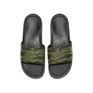 Nike Benassi JDI Herenslipper - Olive