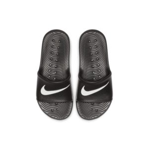 Nike Kawa Shower Slipper voor kleuters/kids - Zwart