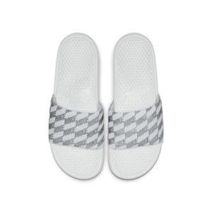 Nike Benassi Slipper voor heren - Zilver