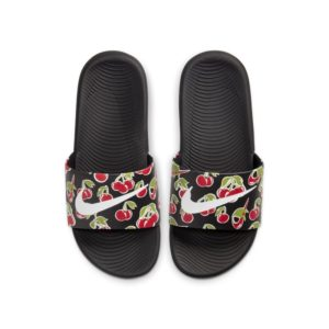 Nike Kawa SE Picnic Slipper voor kleuters/kids - Zwart