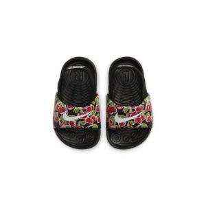 Nike Kawa SE Picnic Slipper voor baby's/peuters - Zwart