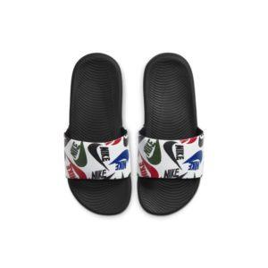 Nike Kawa SE JDI Slipper voor kleuters/kids - Zwart