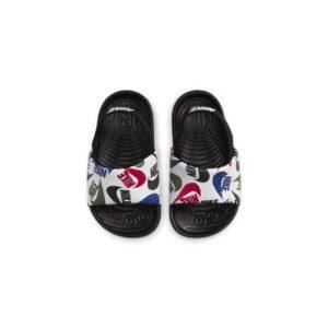 Nike Kawa SE JDI Slipper voor baby's/peuters - Zwart