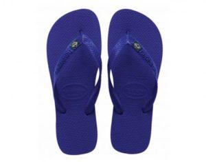 Havaianas Brasil Blauwe Slipper (Blauw)