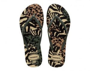 Havaianas Slim Animal Dames Slippers (Beige