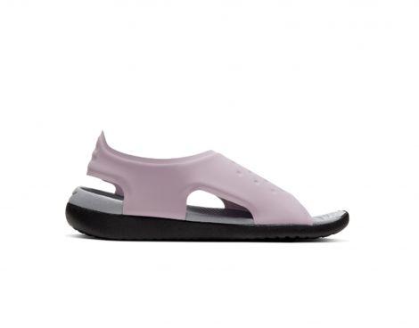 Nike Sunray Adjust 5 Gs/Ps Kinder Slippers (Lila)