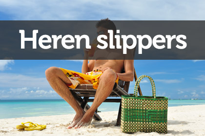 Heren slippers