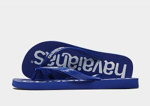 Havaianas Top Mix Flip Flops (Navy/Grey)