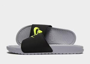 Nike Benassi Slippers Heren (Grey)