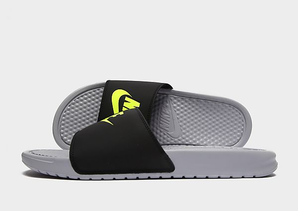 Nike Benassi Slippers Heren (Grey)