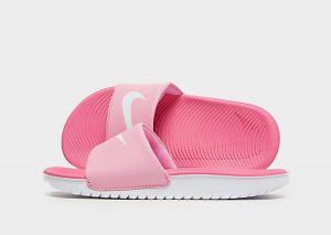 Nike Kawa Slippers Kinderen (Pink/White)
